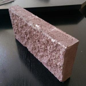 Плитка облицовочная сплиттерная малая 190*190*56мм, красная
