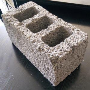 Блок керамзитобетонный 390*190*190