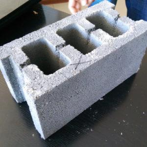 Блок стеновой бетонный 390*190*190