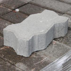 Плитка тротуарная «UNI» «Волна» 112,5*222*60мм